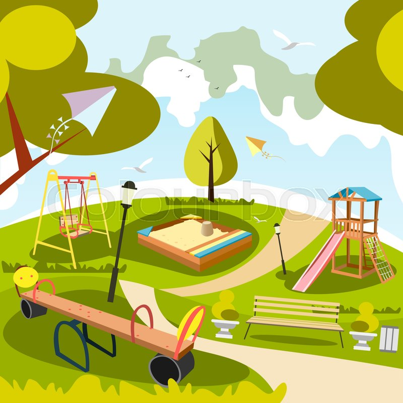 park and playground cartoon vector art and illustration happy girl face clipart happy girl clipart &