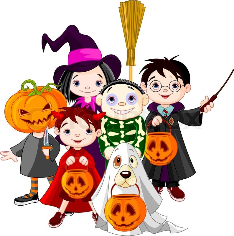 Girls Pumpkin Halloween Costume