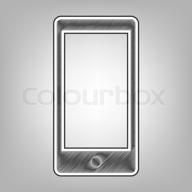 Abstract Style Modern Gadget With Stock Vector Colourbox