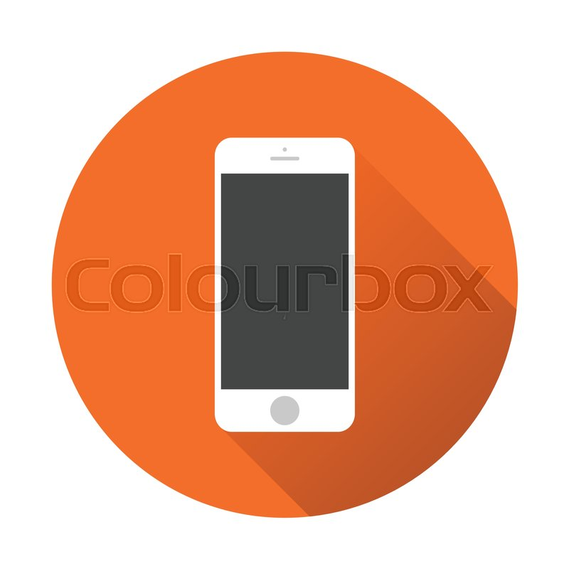 Smartphone icon. Vector illustration