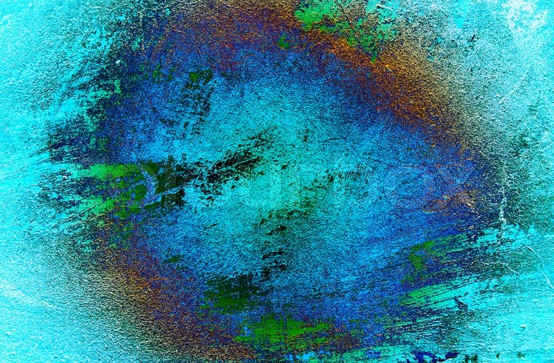 Turquoise wall texture can be used as background stock photo colourbox - Turquoise wallpaper for walls ...