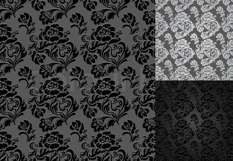 barock barock fliesen stock vektor. Black Bedroom Furniture Sets. Home Design Ideas