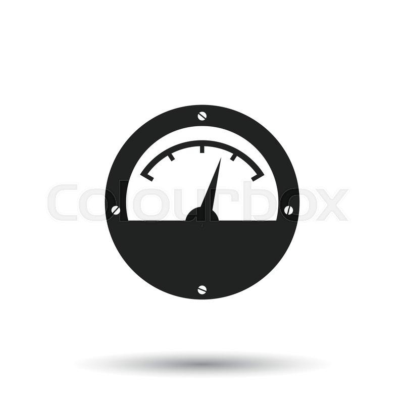 Power Meter Clip Art : Electric meter icon pixshark images galleries