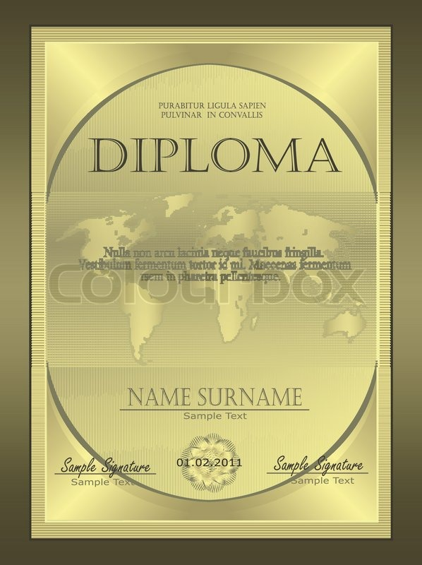 Diploma certificate guilloche coupon certificate template security diploma certificate guilloche coupon certificate template security spirograph vector stock vector colourbox yadclub Gallery