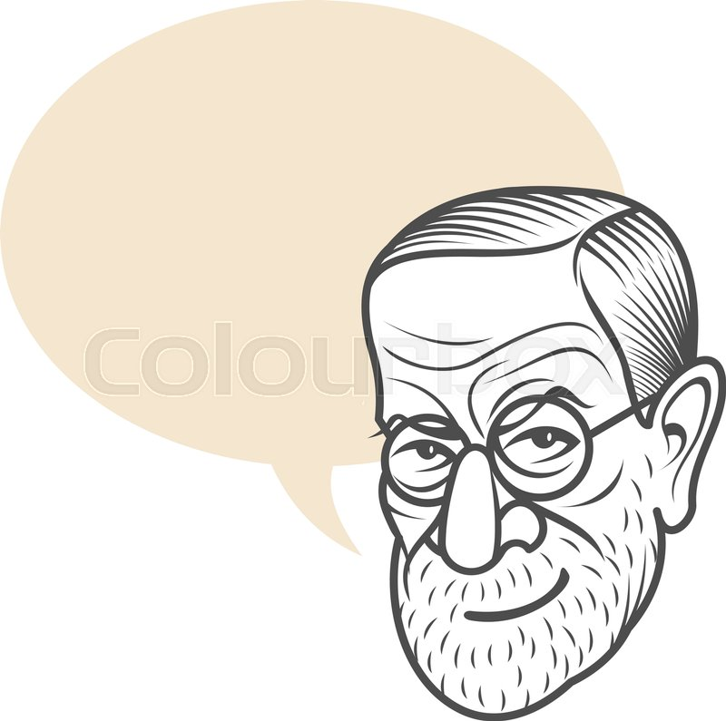 Vector cartoon caricature portrait of sigmund freud vector template stock vector of vector cartoon caricature portrait of sigmund freud vector template for business bookmarktalkfo Images