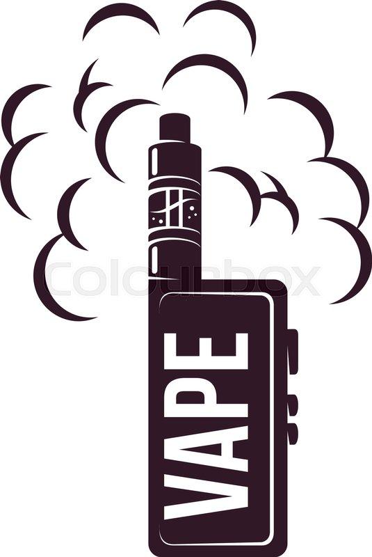 vape e cigarette emblems labels prints and logo vector vintage rh colourbox com free vector vintage labels illustrator