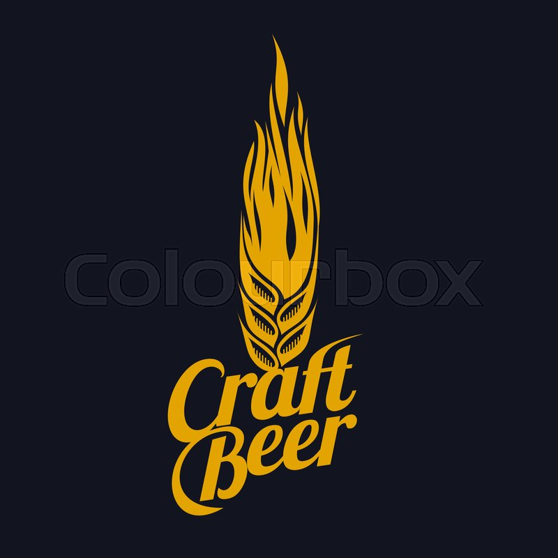 It is a picture of Impertinent Black Label Beer Logo