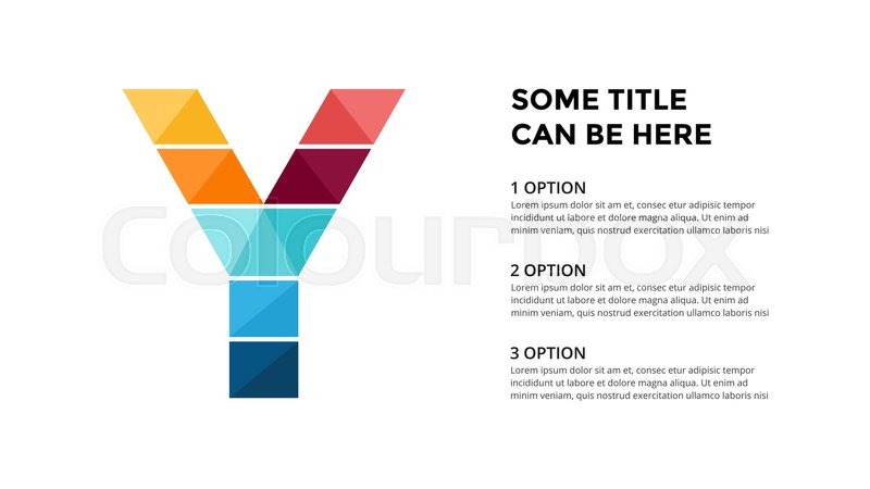 Vector alphabet infographic presentation slide template business vector alphabet infographic presentation slide template business concept with letter y and place for your text 16x9 aspect ratio maxwellsz