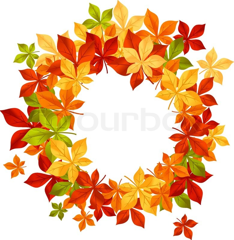 Kids Craft Of Leaves Falling