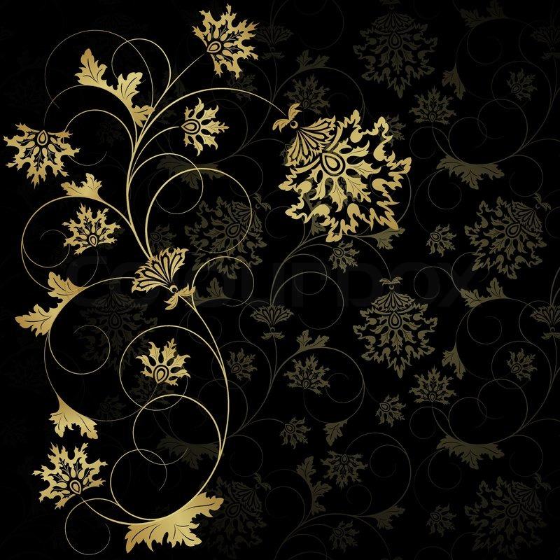 14 Gold Swirl Design Images  Newdesignfilecom