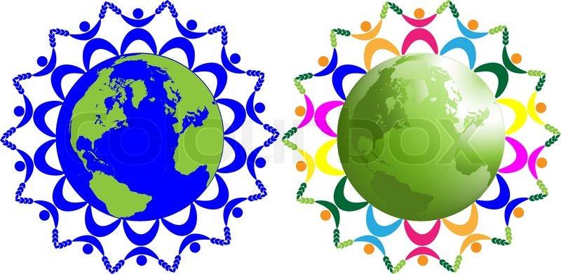 Zusammenfassung Kinder der Welt , Symbol für Frieden , Freundschaft ...