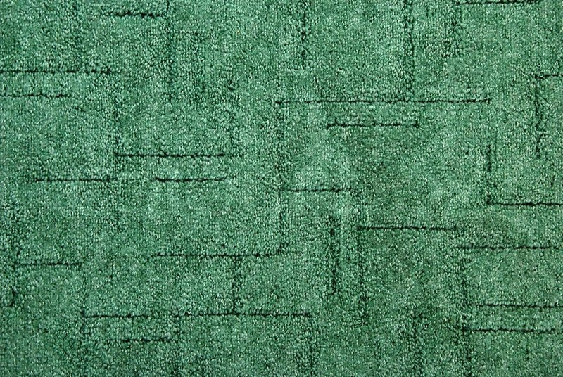 Green Carpet On The Floor Stock Photo Colourbox
