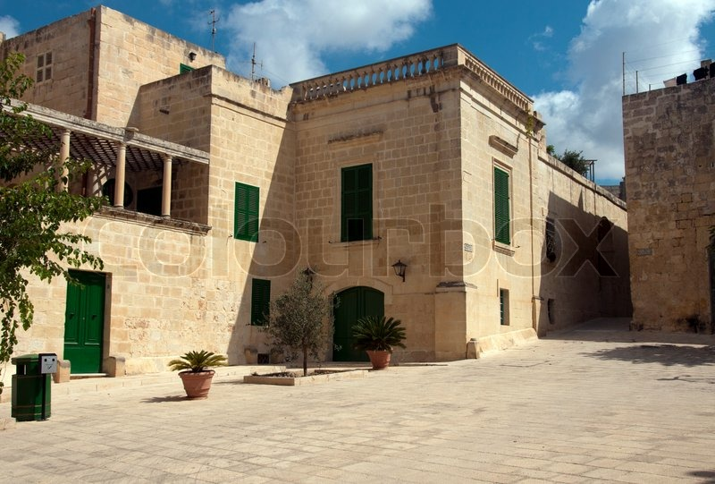 malta old alley houses - photo #37