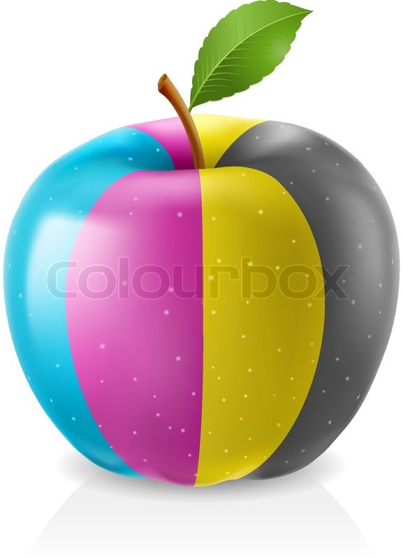 delicious green apple illustration-#46