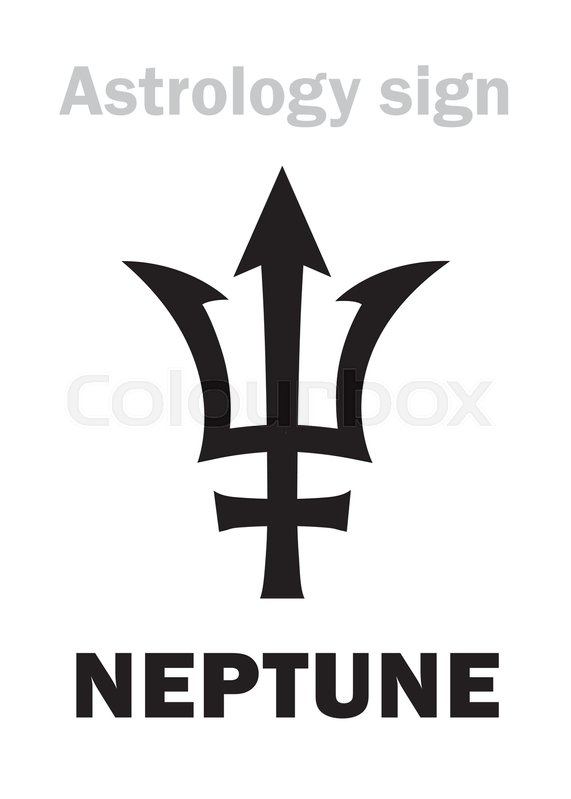 Astrology Alphabet Neptune Poseidons Trident Higher Global