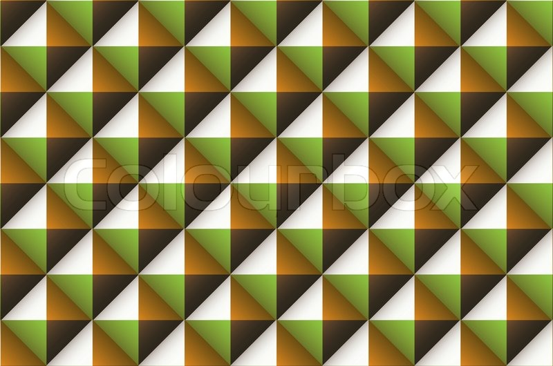 Green Brown And Orange Abstract Wallpaper Background Stock - Green and brown wallpaper