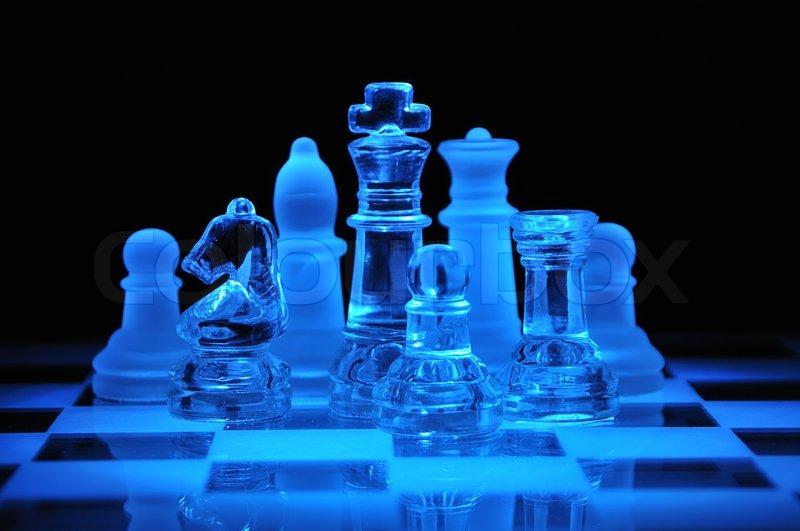 Glass Backgammon Set