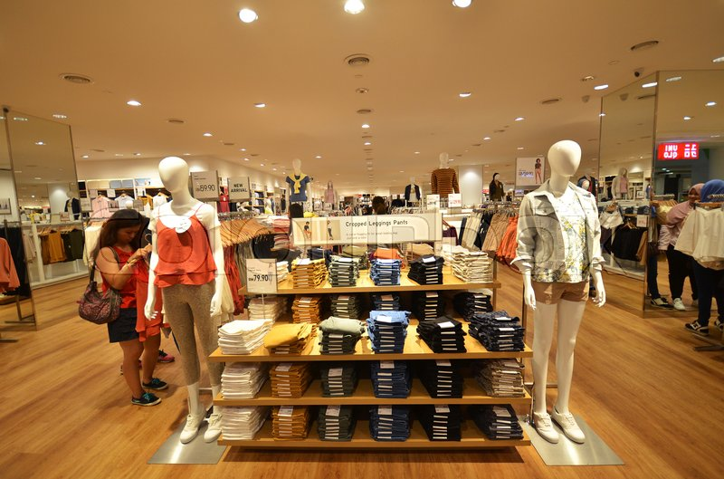 uniqlo co ltd is a japanese casual wear designer manufacturer and retailer stock photo colourbox