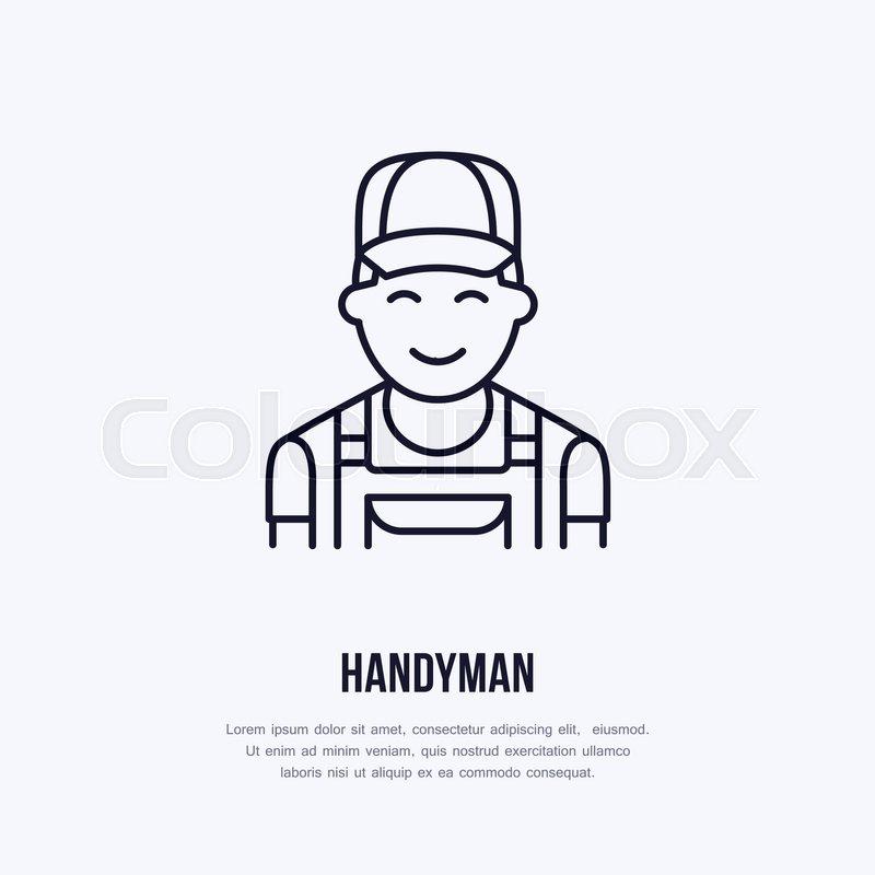 Handyman services logo d3e0956336a2