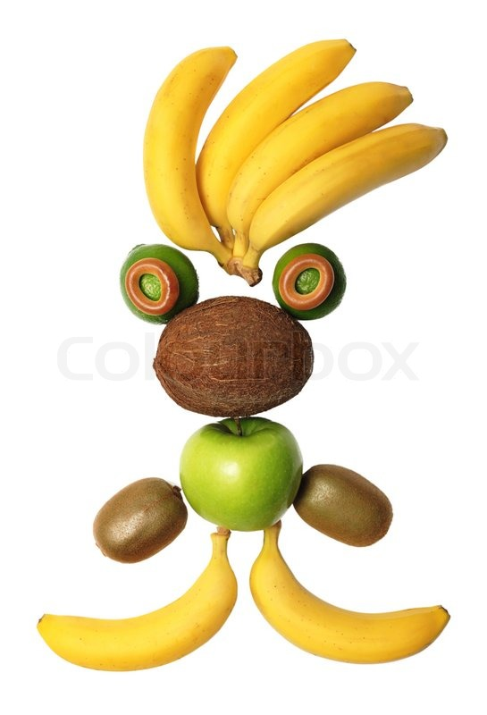 Stock image of 'Fruit-man'