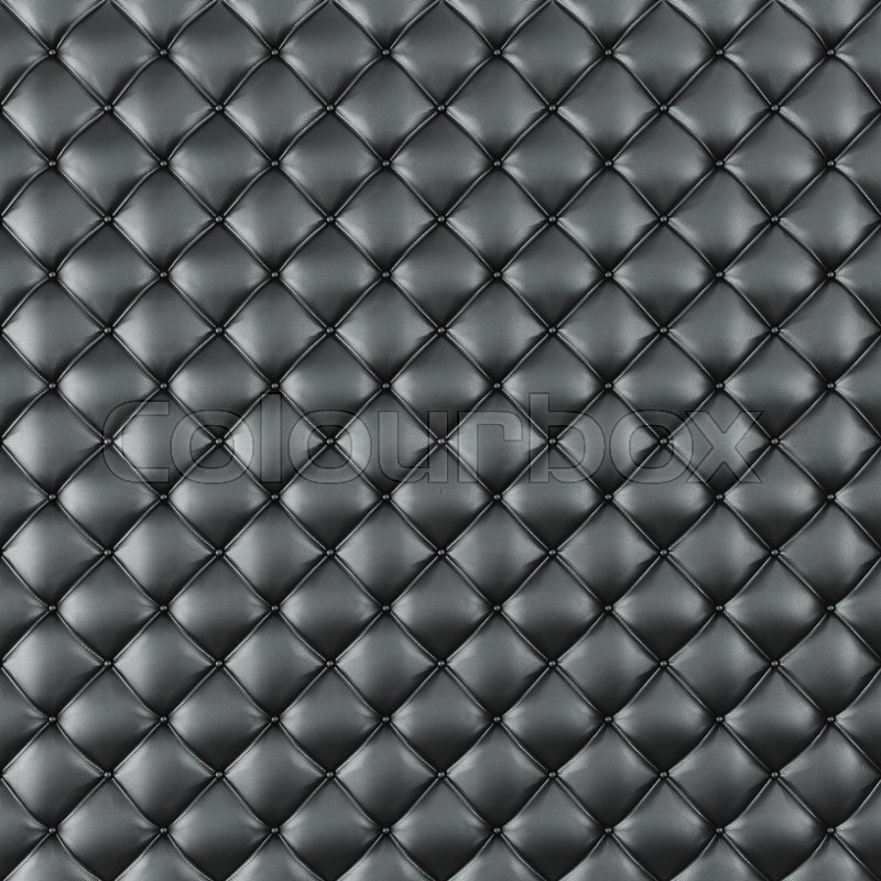 Leather Upholstery Sofa Background Black Luxury