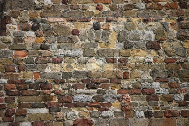 steinwand, steinwand, bruchsteinwand, wand   stock photo   colourbox, Design ideen