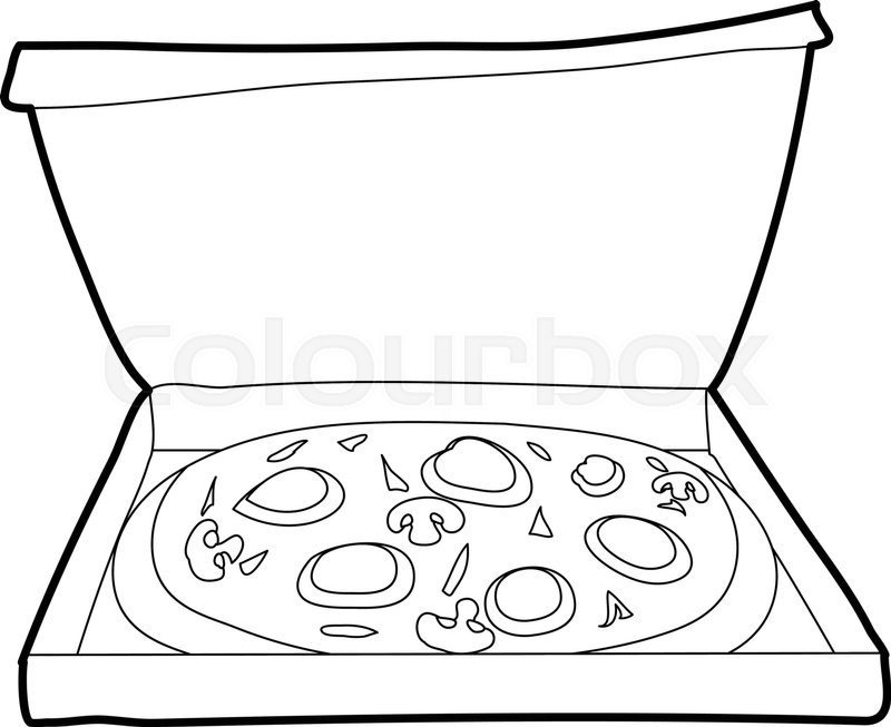 Pizza Outline