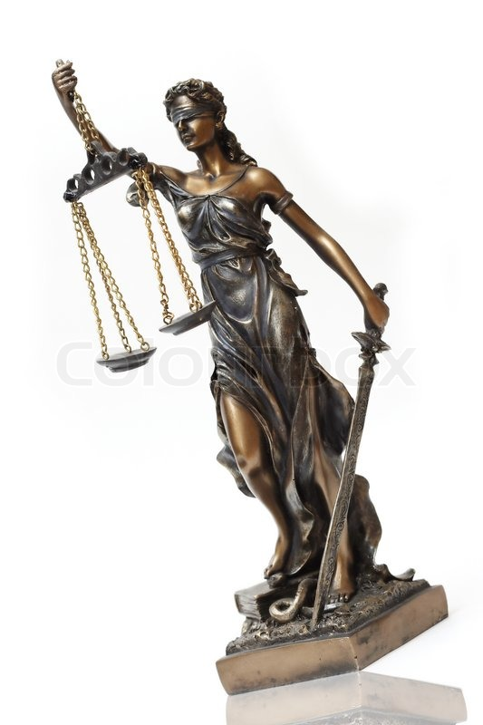 Judiciary Lady Themis Is A Symbol Of Justice Stock Photo Colourbox