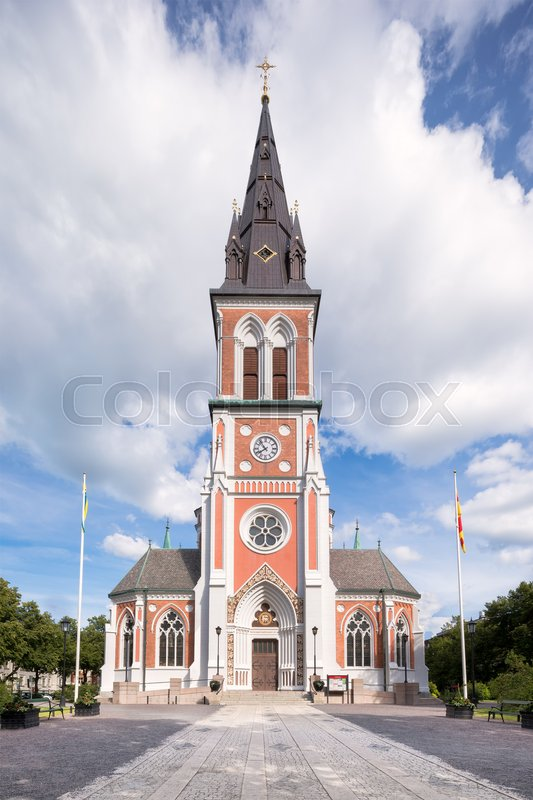 Editorial image of 'Sofia church in Jönköping, Sweden.'