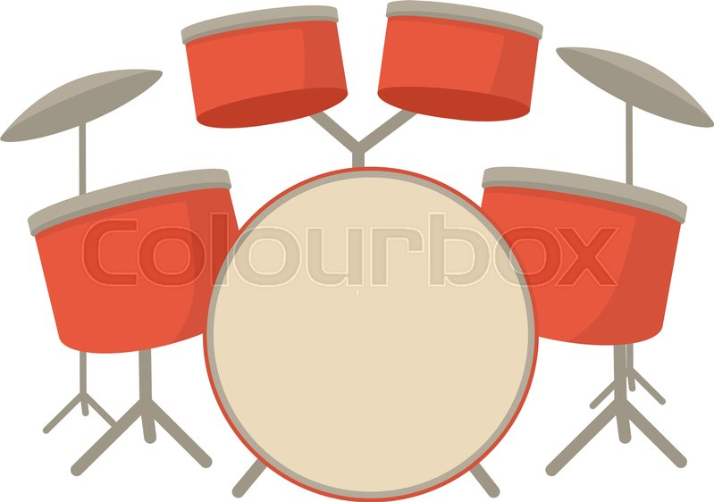 Drum Set Icon Cartoon Illustration Of Drum Set Vector Icon For Web