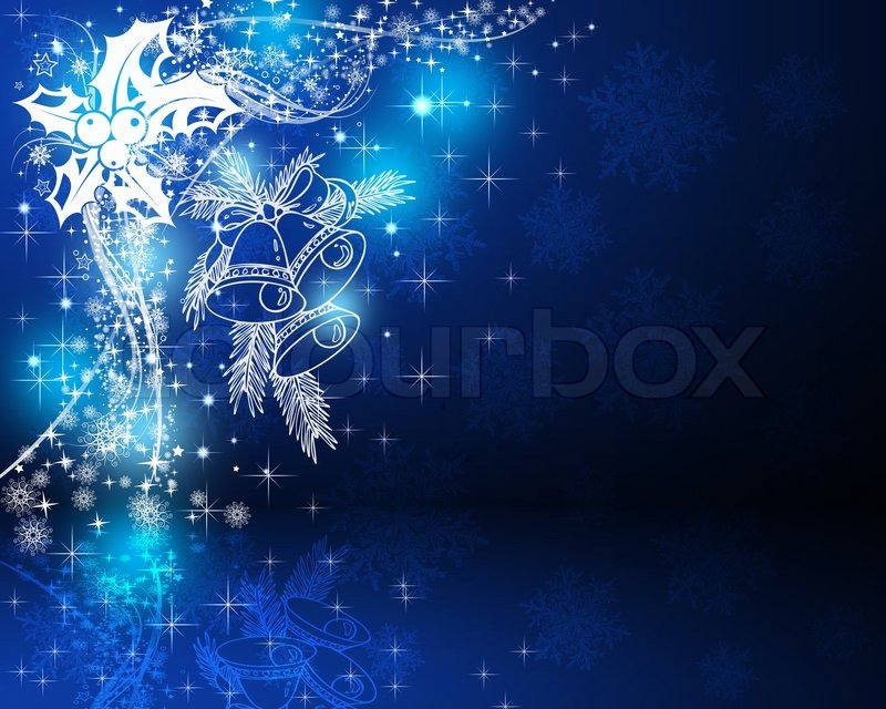 Colorful background on christmas and new year theme for Christmas theme design
