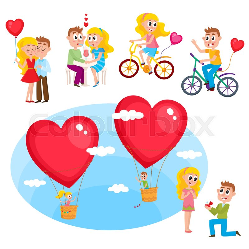 Cartoons dating relationships