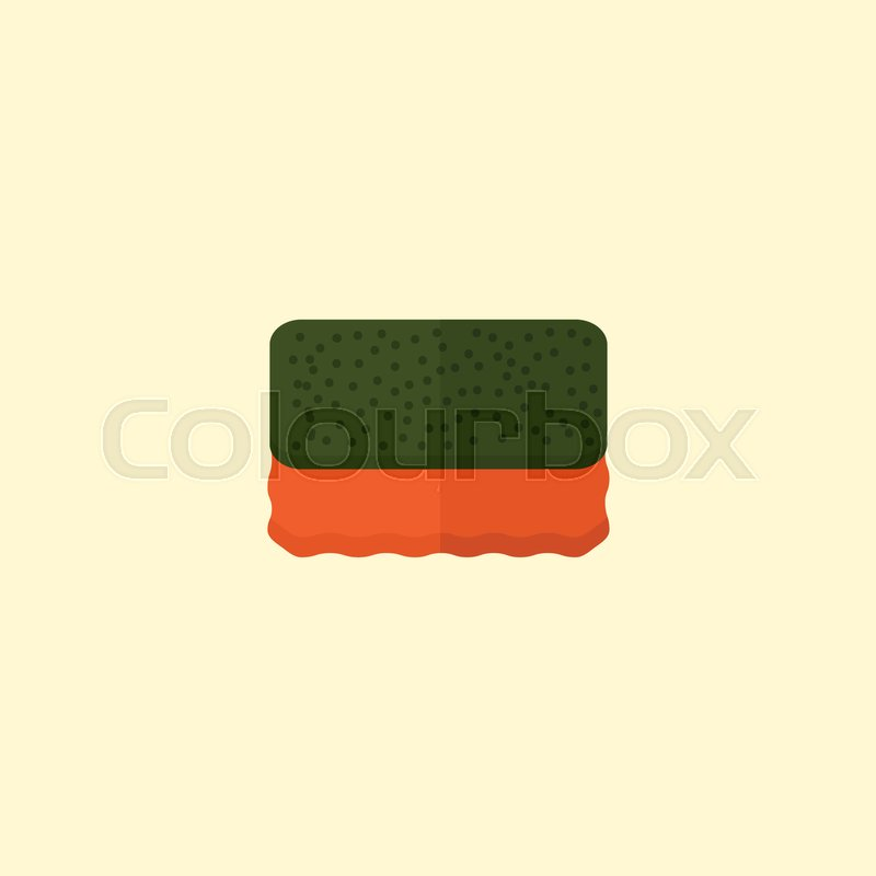 Flat Icon Sponge Element Vector Illustration Of Flat Icon Wisp