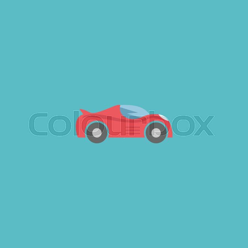 Flat Icon Sport Vehicle Element Vector Illustration Of Flat Icon