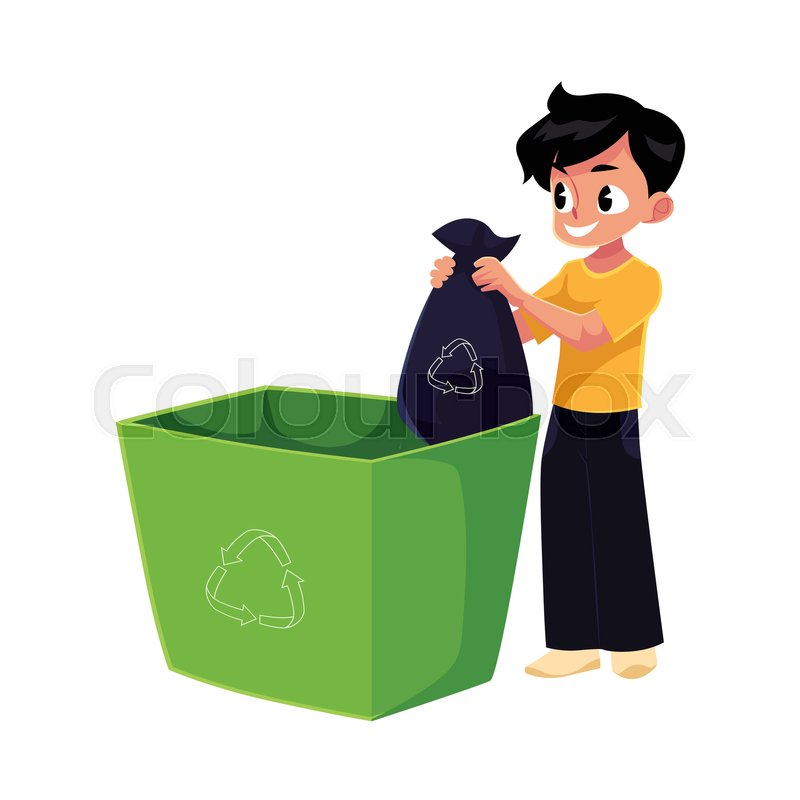 how to get a new recycling bin