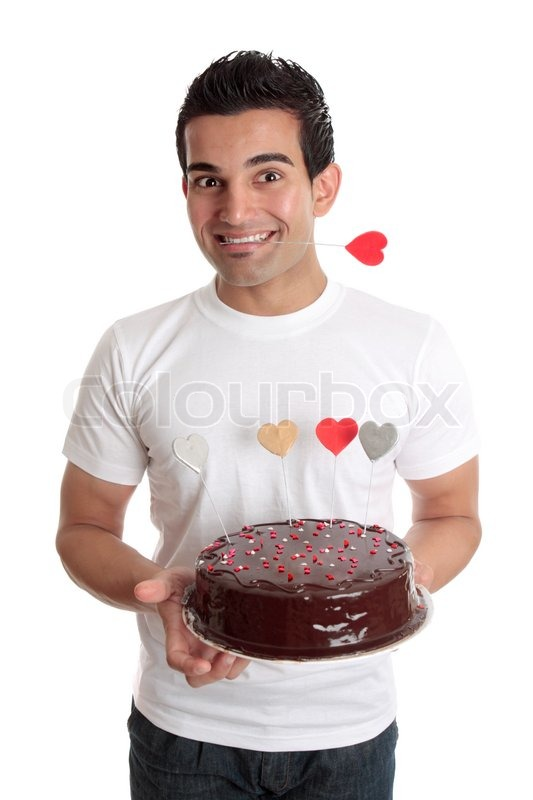 Heart Chocolate Box Cake