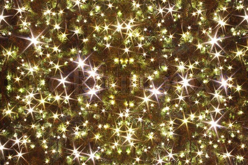 weihnachtsbaum beleuchtung als weihnachtshintergrund stockfoto colourbox. Black Bedroom Furniture Sets. Home Design Ideas