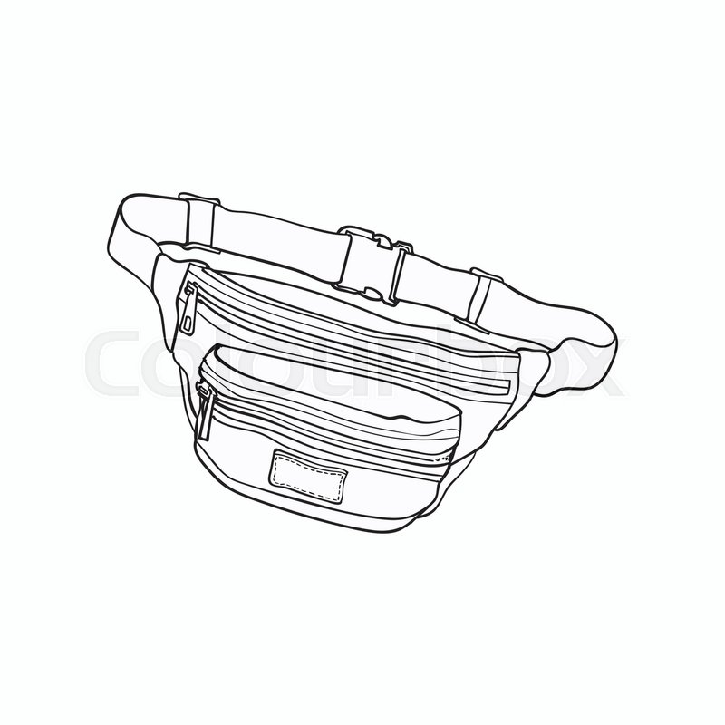 Old Fashioned Fanny Pack