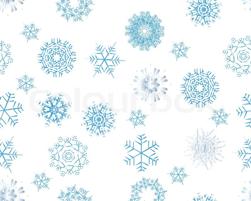 Winter Background Vector Free Vector Download 45 386 Free: Seamless Background With Winter Snowflakes For Designer