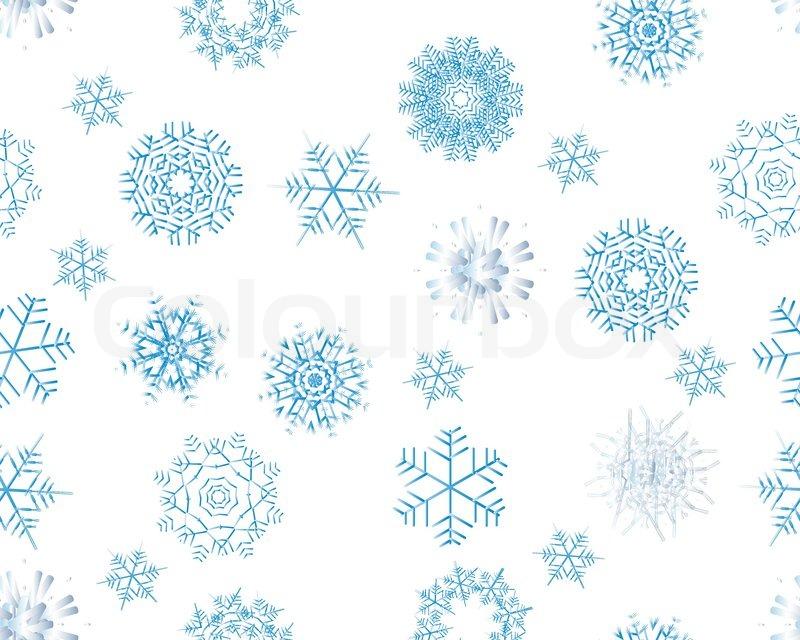 nahtlose hintergrund mit schneeflocken im winter f r. Black Bedroom Furniture Sets. Home Design Ideas