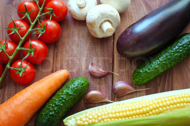 Vegetables. Fresh vegetables. Colorful vegetables background. Healthy vegetable photo. Assortment of fresh vegetables close up, stock photo