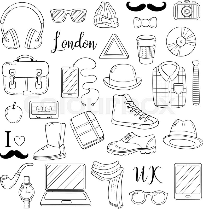 Doodle Cartoon Comic Background Wallpaper Template Backdrop Vector Illustration Freehand Sketch For Adult Anti Stress Coloring Book Page