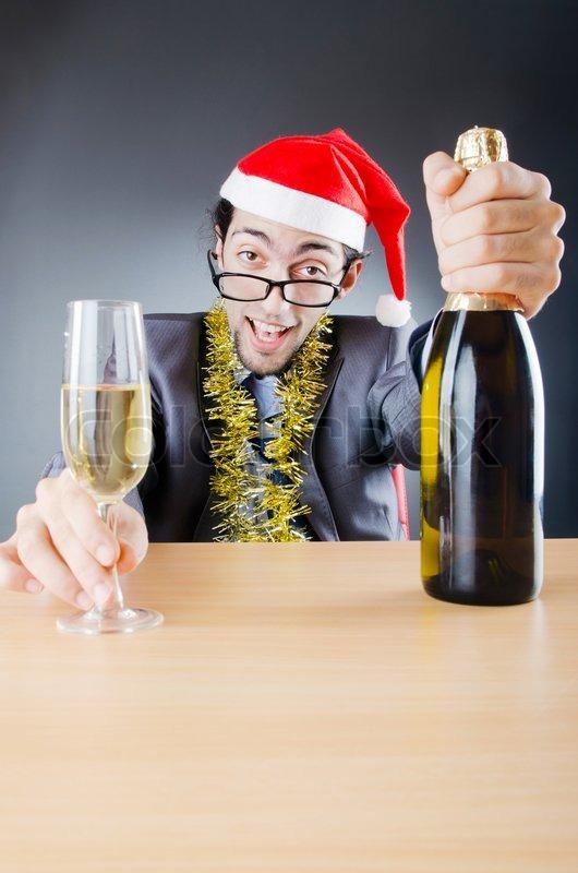 Drunken Businessman After Office Stock Photo Colourbox