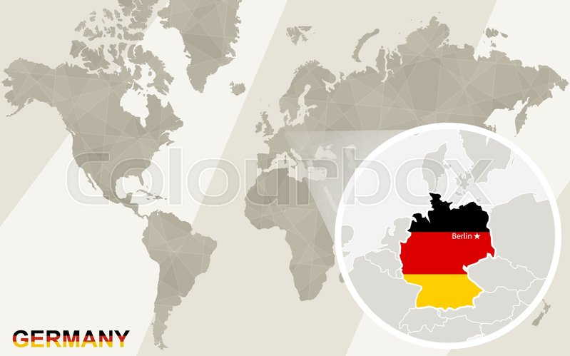 Zoom on Germany Map and Flag. World ... | Stock vector ... Germany Map And Flag on south sudan flag and map, england flag and map, slovakia flag and map, mozambique flag and map, british flag and map, iran flag and map, kuwait flag and map, france flag and map, arizona flag and map, malaysia flag and map, israel flag and map, syria flag and map, belize flag and map, portugal flag and map, zambia flag and map, chad flag and map, china flag and map, ireland flag and map, lebanon flag and map, ukraine flag and map,