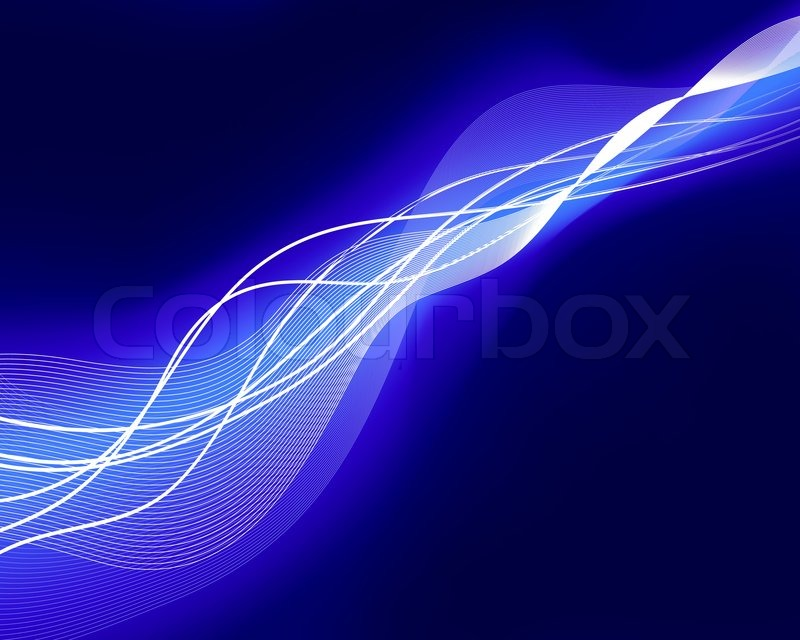 Abstract Water Vector Background With Neon Glowing Stock Colourbox