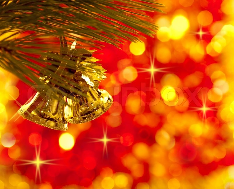 Gold Christmas Tree Decorations On ...