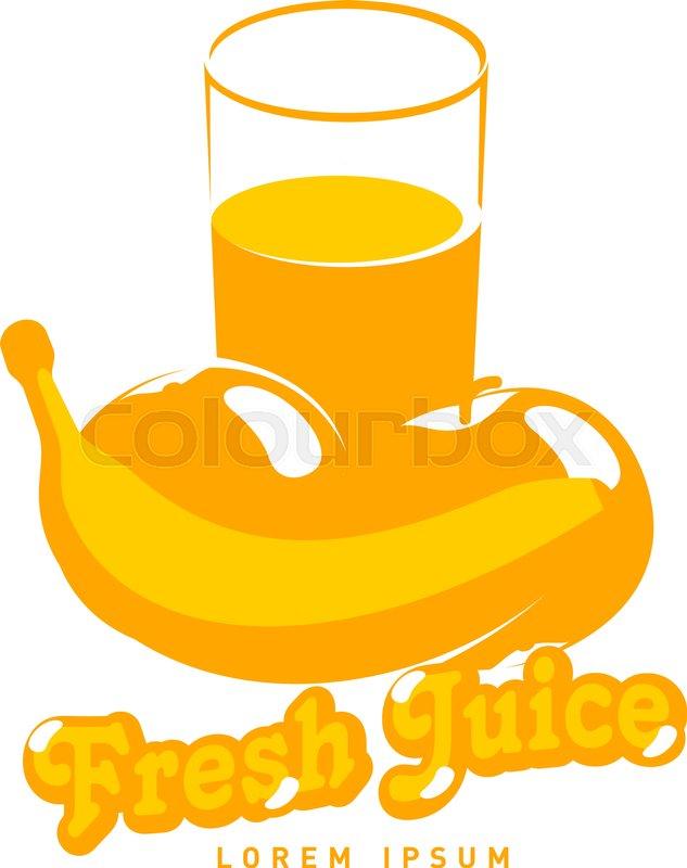Fesh juice logo vector illustration      | Stock vector