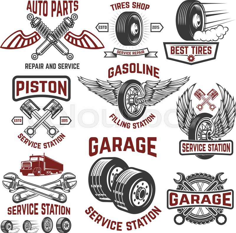 Garage service station tires shop auto parts store for Garage auto discount montpellier