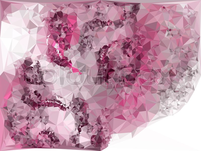 geometric low polygonal background abstract multicolor mosaic