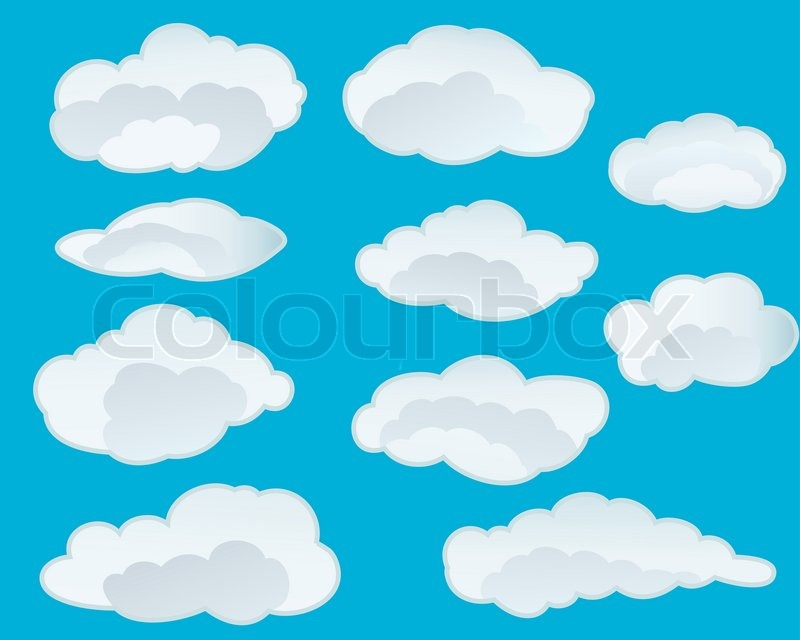 Clipart Clouds Background